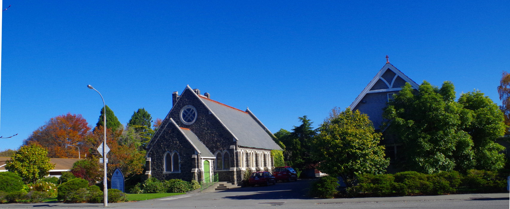 church and hall